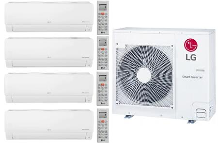 LG 962232 28400 BTU Quad-Zone Mini Split System