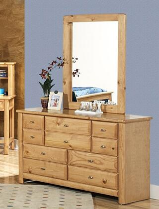 Chelsea Home Furniture 35345354536C  Wood Dresser