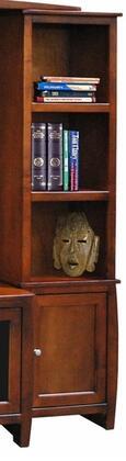 Legends Furniture CV3404GDO Curve Series  Bookcase