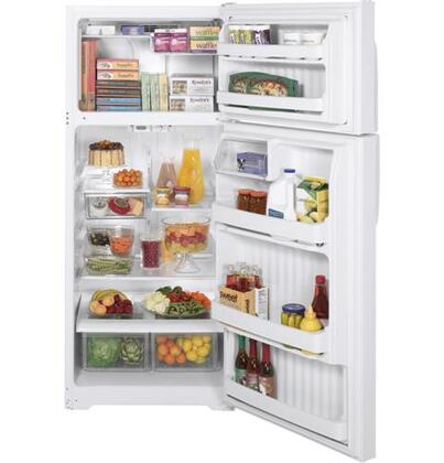 GE GTH18HBTWW  Refrigerator with 18.2 cu. ft. Capacity in White