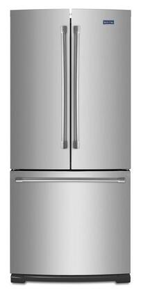 "Maytag MFF2055DRM 30""  French Door Refrigerator with 19.7 cu. ft. Capacity in Monochromatic Stainless Steel"