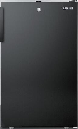 """AccuCold FS408BL7BIxx 20"""" Upright Freezer with 2.8 cu. ft. Capacity, Factory Installed Lock, Manual Defrost, Pull-Out Drawers and Reversible Door, in"""