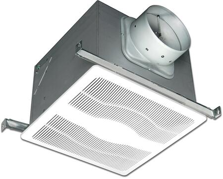 Air King ExD Two Speed Exhaust Fan with x CFM, 23 Gauge Galvanized Steel Housing, and Polymeric Grill, in White