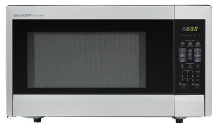 Sharp R331zs Countertop Microwave In Stainless Steel
