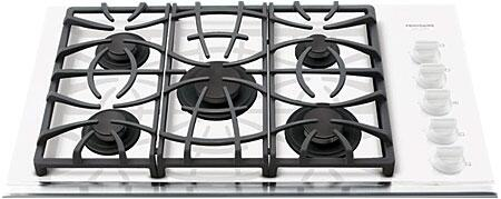 Frigidaire FGGC3665KW Gallery Series Gas Sealed Burner Style Cooktop, in White
