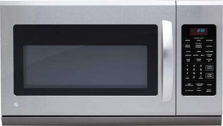 LG LMH2016ST 2 cu. ft. Capacity Over the Range Microwave Oven
