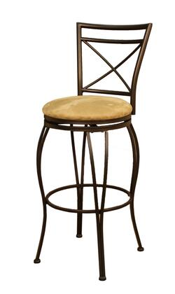 American Heritage 124830CCM42 Torino Series Residential Microfiber Upholstered Bar Stool