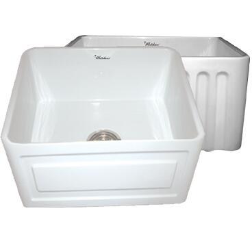 Whitehaus WHFLRPL2018BL Kitchen Sink
