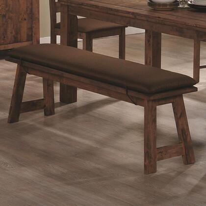 Coaster 103473 Maddox Series Kitchen  Wood Fabric Bench