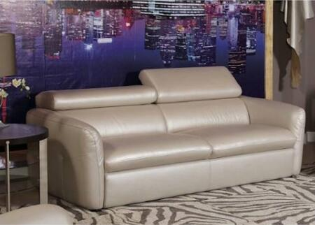 Novo Home 20153S Avante Series Stationary Leather Sofa