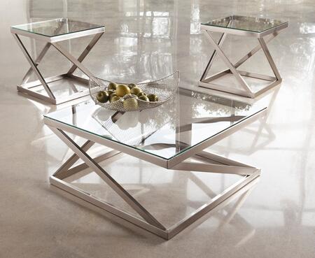 Milo Italia TA199CT2ET Kellen Living Room Table Sets