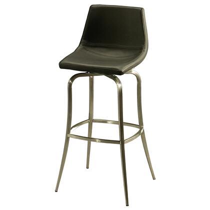 Pastel Furniture QLDP2192 Diamond Pearl 30 in. Bar Height Swivel Barstool