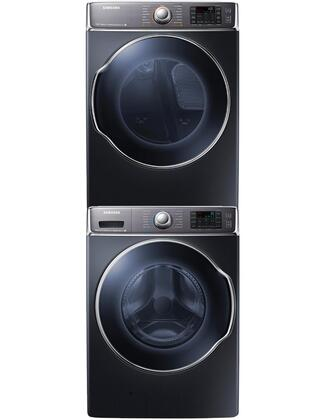 Samsung Appliance SAM3PCFL30GSTCKBKKIT1 9100 Washer and Drye