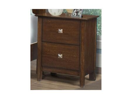 Klaussner 759670 Bardot Series Square Wood Night Stand