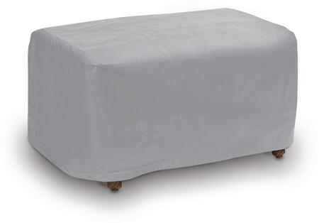 """PCI by Adco 32"""" Large Ottoman Outdoor Cover with UV Treated, Secured with Velcro Ties, Water Resistant and Heavy Duty Vinyl Fabric in"""