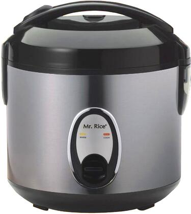 Sunpentown SC-1201 Six Cups Rice Cooker With Easy One-Button Operation, Automatic Keep Warm System & In