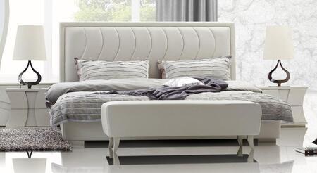 VIG Furniture CHARMINGBEDCK  California King Size Platform Bed