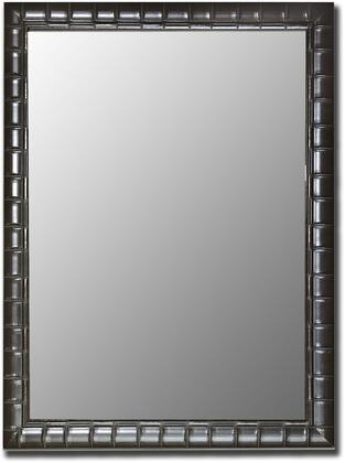 """Hitchcock Butterfield 55080x Cameo X"""" x X"""" Mirror in Bamboo Black"""