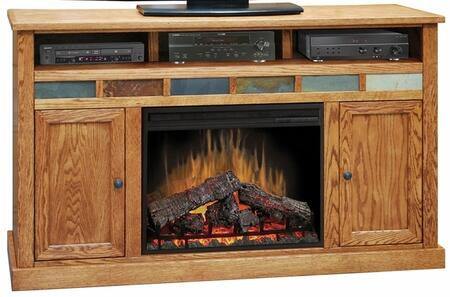 Legends Furniture OC5101GDO Oak Creek Series  Fireplace