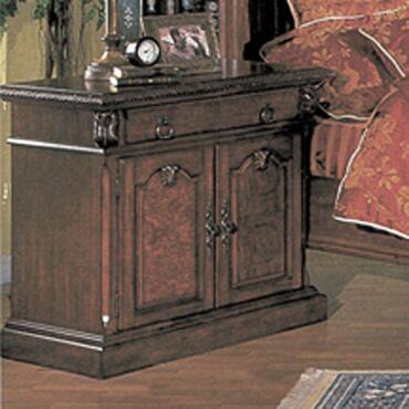 Yuan Tai 9603N Sophie Series Rectangular Wood Night Stand
