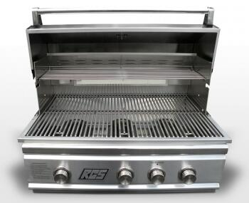 RCS TRBO32NG Built In Natural Gas Grill