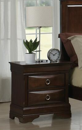 Yuan Tai LE3403N Lexington Series Rectangular Wood Night Stand