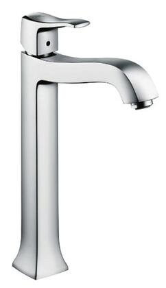 Hansgrohe 31078 Metris C Tall Single-Hole Faucet with Boltic Handle Lock: