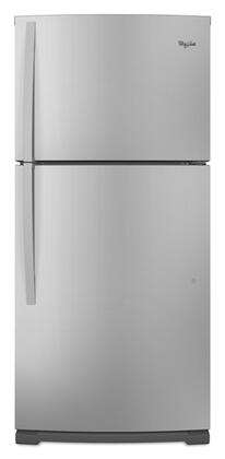 Whirlpool WRT579SMYM Freestanding Top Freezer Refrigerator with 18.9 cu. ft. Total Capacity 1 Wire Shelves 5.3 cu. ft. Freezer Capacity