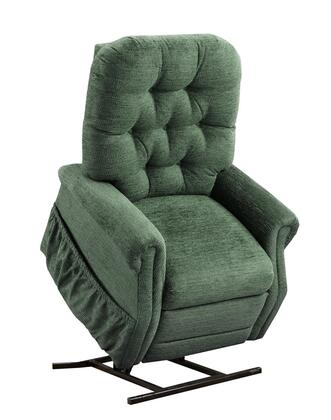 MedLift 2555EP Contemporary Fabric Wood Frame  Recliners
