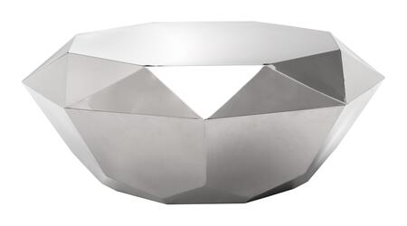 """Zuo 10034A Gem 39"""" Coffee Table with Low Profile, and Precision Cut"""
