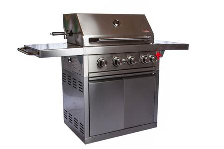 Swiss Grills Angle of Grill Exterior