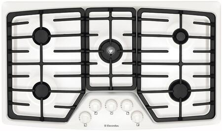 Electrolux EW36GC55GW Wave-Touch Series Gas Sealed Burner Style Cooktop