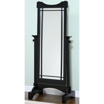 Powell 295773 Mission Black Series Rectangular Portrait Floor Mirror