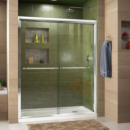 DreamLine Duet Shower Door RS43 C Base RightDrain