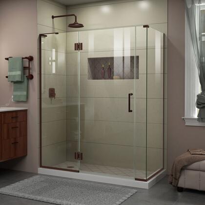 DreamLine Unidoor X Shower Enclosure 24HP 30D 6IP 30RP 06