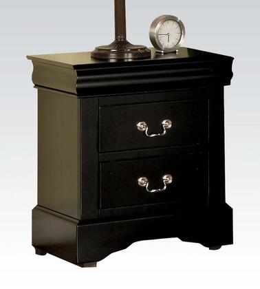Acme Furniture 19503 Louis Philippe III Series Rectangular Wood Night Stand