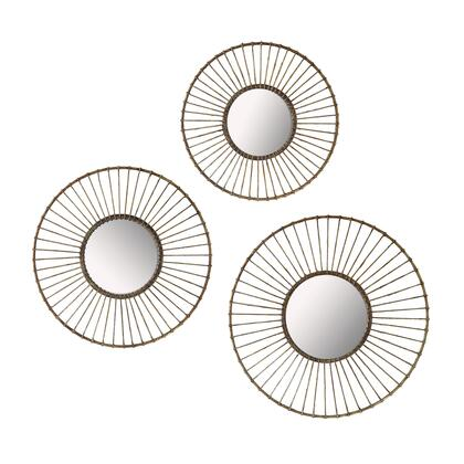 Sterling 138182S3 Mirror Series Round Both Wall Mirror