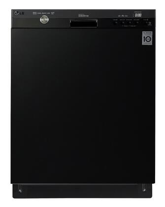 LG LDS5540 Semi-Integrated Dishwasher with Flexible EasyRack Plus System, LoDecibel Operation, SmartDiagnosis System, 14 Places Settings, SenseClean Wash System in