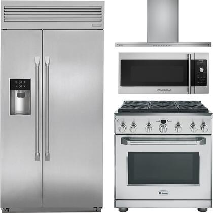 Ge Monogram 890103 Kitchen Appliance Packages Appliances