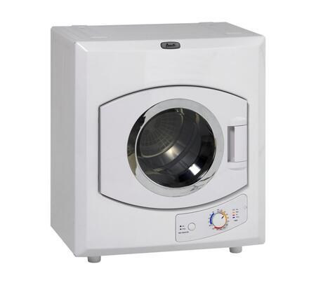 """Avanti D1101IS 24"""" 2.6 cu. ft. Electric Dryer, in White"""