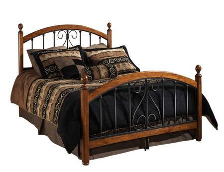 Hillsdale Furniture 1258BKR Burton Way Series  King Size Poster Bed