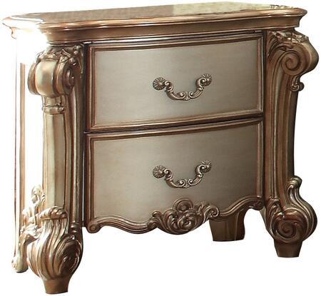 Acme Furniture 23003 Vendome Series Rectangular Wood Night Stand