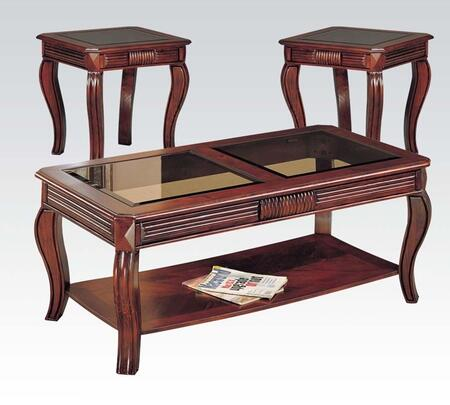 Acme Furniture 06152 Contemporary Living Room Table Set