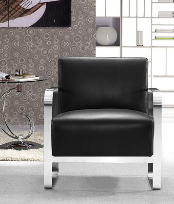 "VIG Furniture VG2T0560BLK 28"" Lounge Chair"
