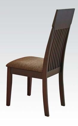 Acme Furniture 00856 Medora Series Contemporary Fabric Wood Frame Dining Room Chair