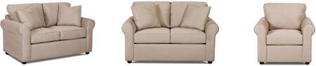 Klaussner 24900KL3PCQSTLARMKIT1 Brighton Living Room Sets
