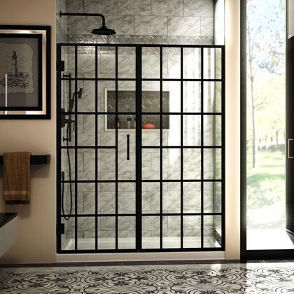 Unidoor Toulon Shower Door RS73 29D 29P E