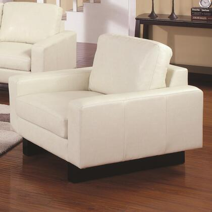 Coaster 504303 Ava Series Bonded Leather with Wood Frame in Cream