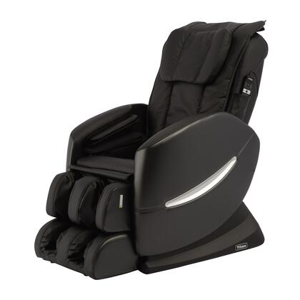 Titan TI-Comfort 7 Massage Chair with Longer S-Track Design, Power Recline on Backrest and Footrest, Seat Vibration massage, CA117 Fire Proof PU and Remote Holder Pocket in