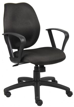 "Boss B1015BK 26"" Adjustable Contemporary Office Chair"